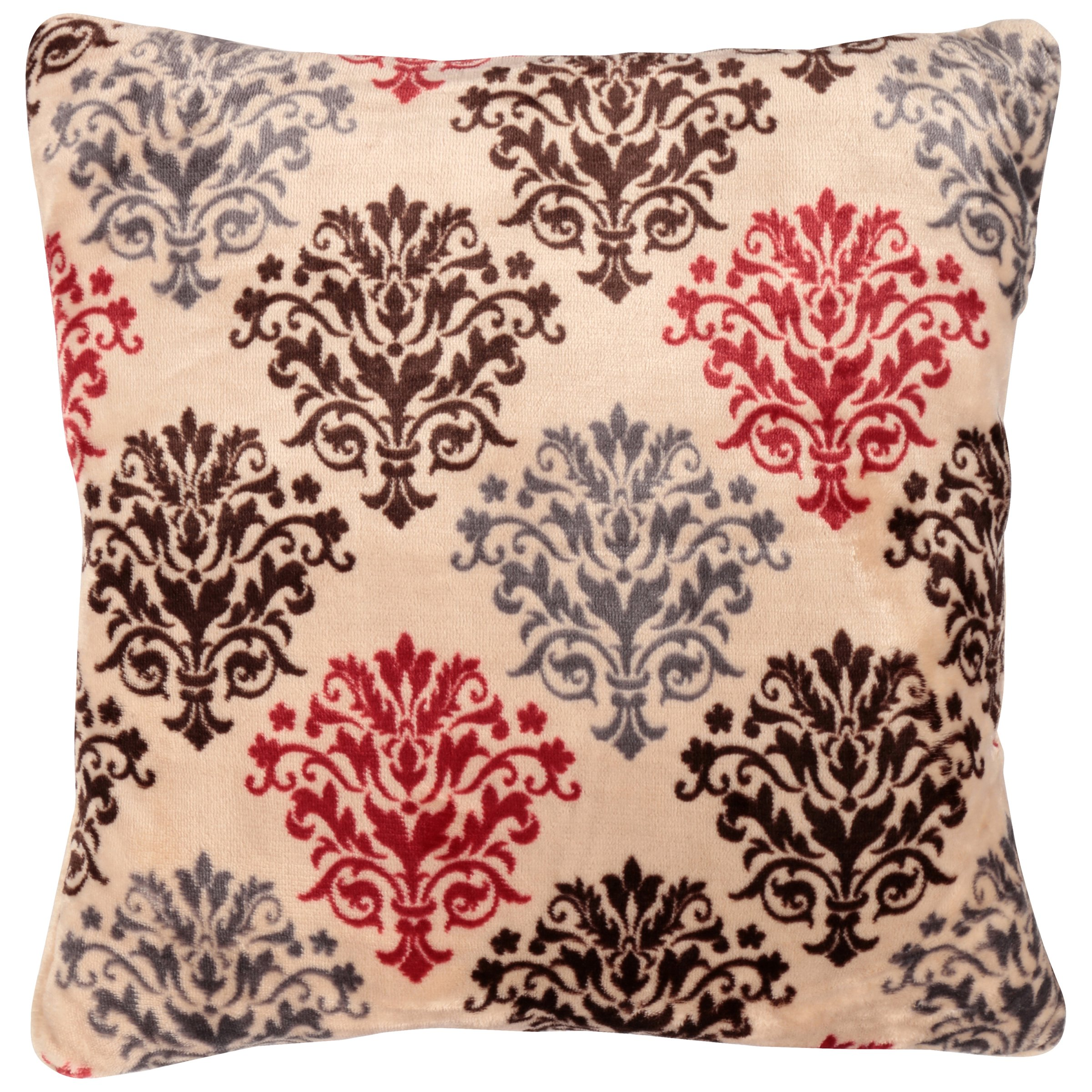 Mainstays™ Brown/Red Medallion Throw Pillows 2 ct Pack