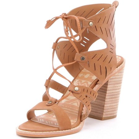 5850eccc42c3 Dolce Vita - Women s Luci Ghillie Lace Up Stacked Heel Sandals ...