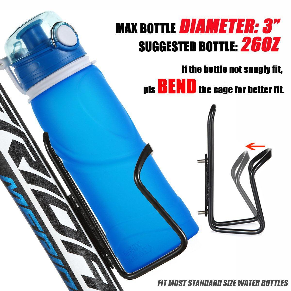 Basic MTB Bike Bicycle Alloy Aluminum Lightweight Wat UShake Water Bottle Cages