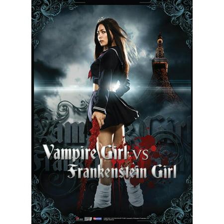 Wall Scroll - Vampire Girl Vs Frankenstein Girl -Anime Fabric Art Poster ge5837