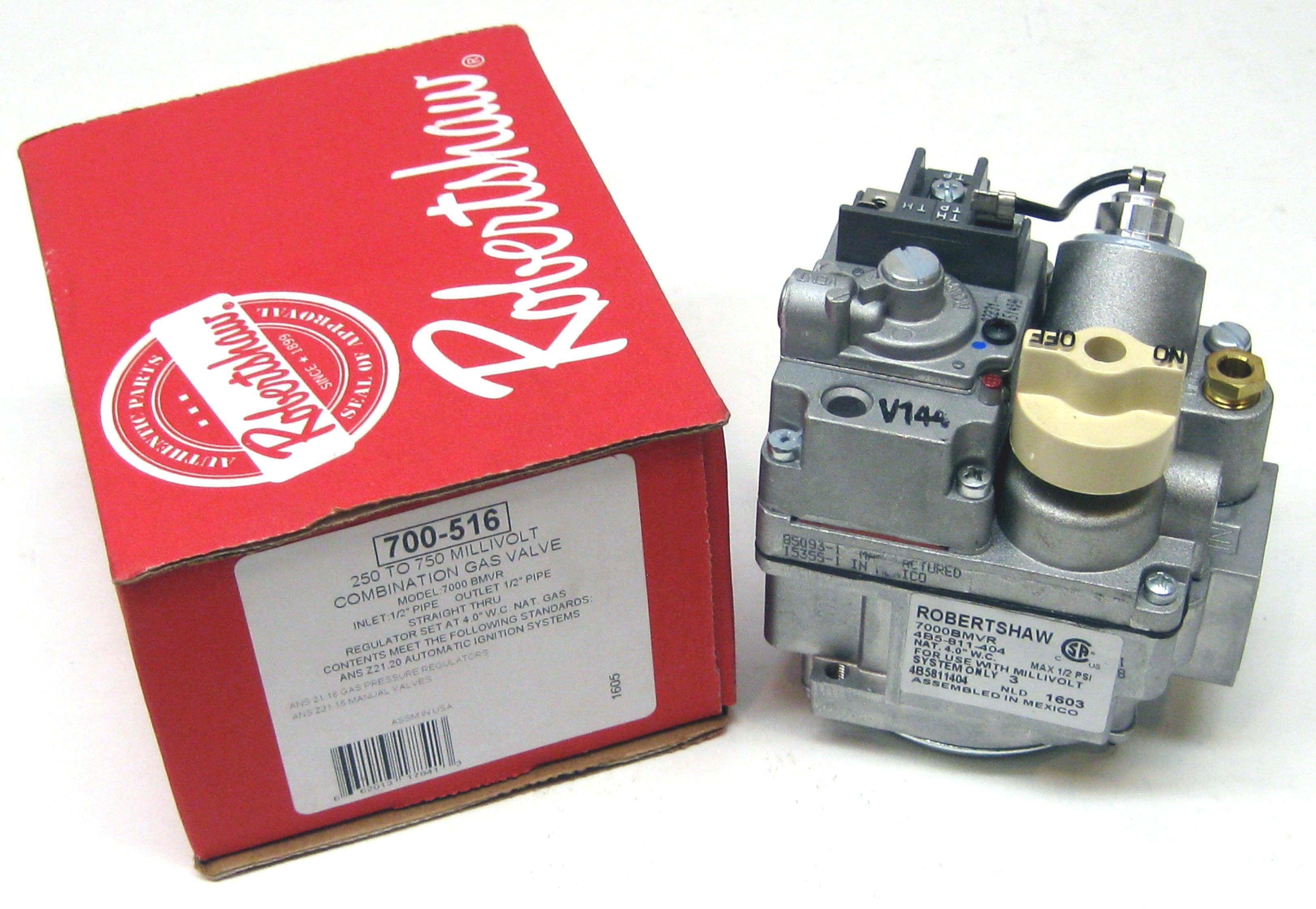 robertshaw millivolt mv gas valve 700 516 7000bmvr for keating rh walmart com robertshaw 7000 series gas valve manual robertshaw 7000 series gas valve manual