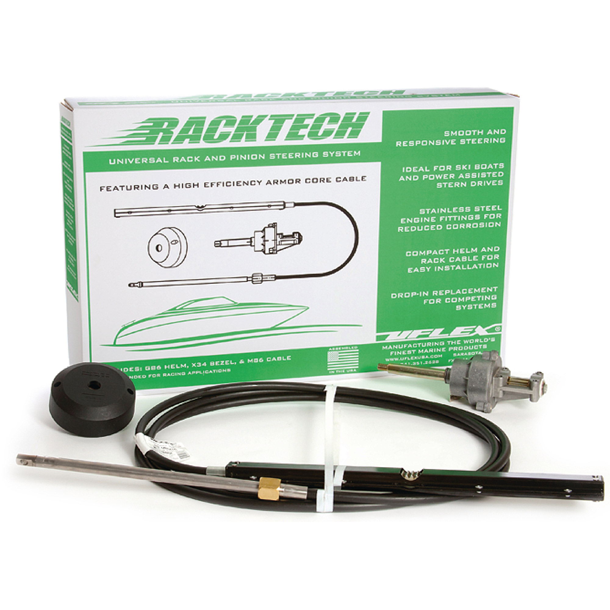 UFLEX Racktech Rack and Pinion Steering System