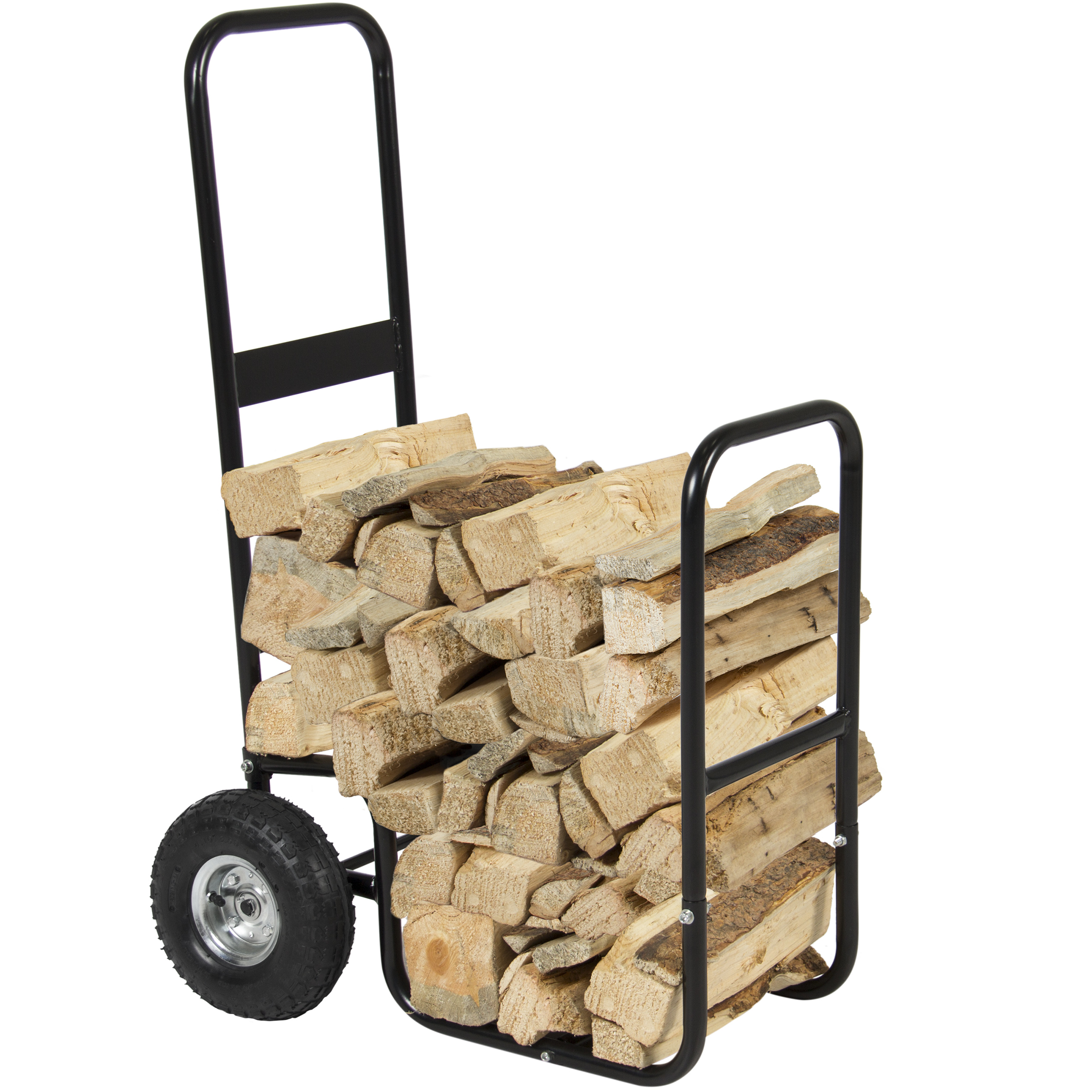 Free Shipping. Buy Best Choice Products Firewood Cart Log Carrier Fireplace Wood Mover Hauler Rack Caddy Rolling Dolly at Walmart.com
