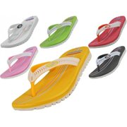 Easy USA W7715-A Lady Sport Flip Flop, 36 Pairs