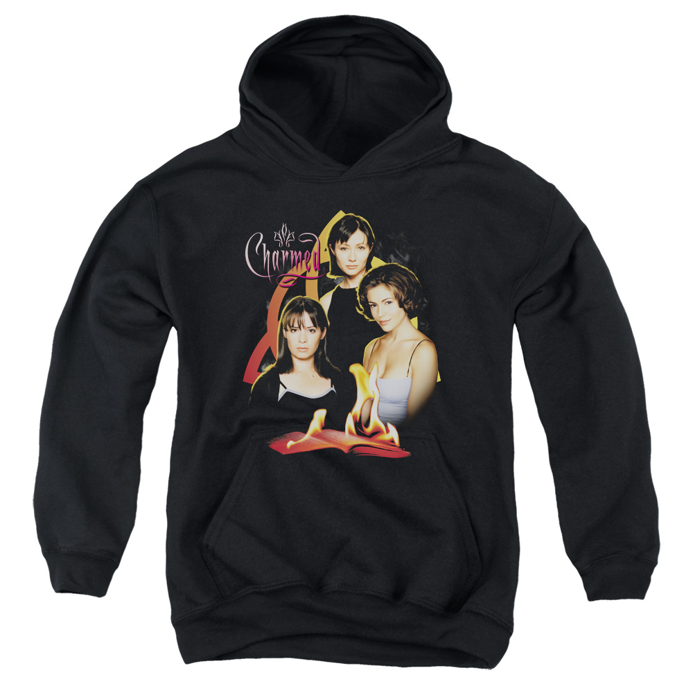 Charmed Original Three Big Boys Pullover Hoodie