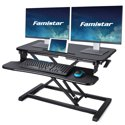 "Famistar 31.5"" (W) Height Adjustable Standing Desk Converter"