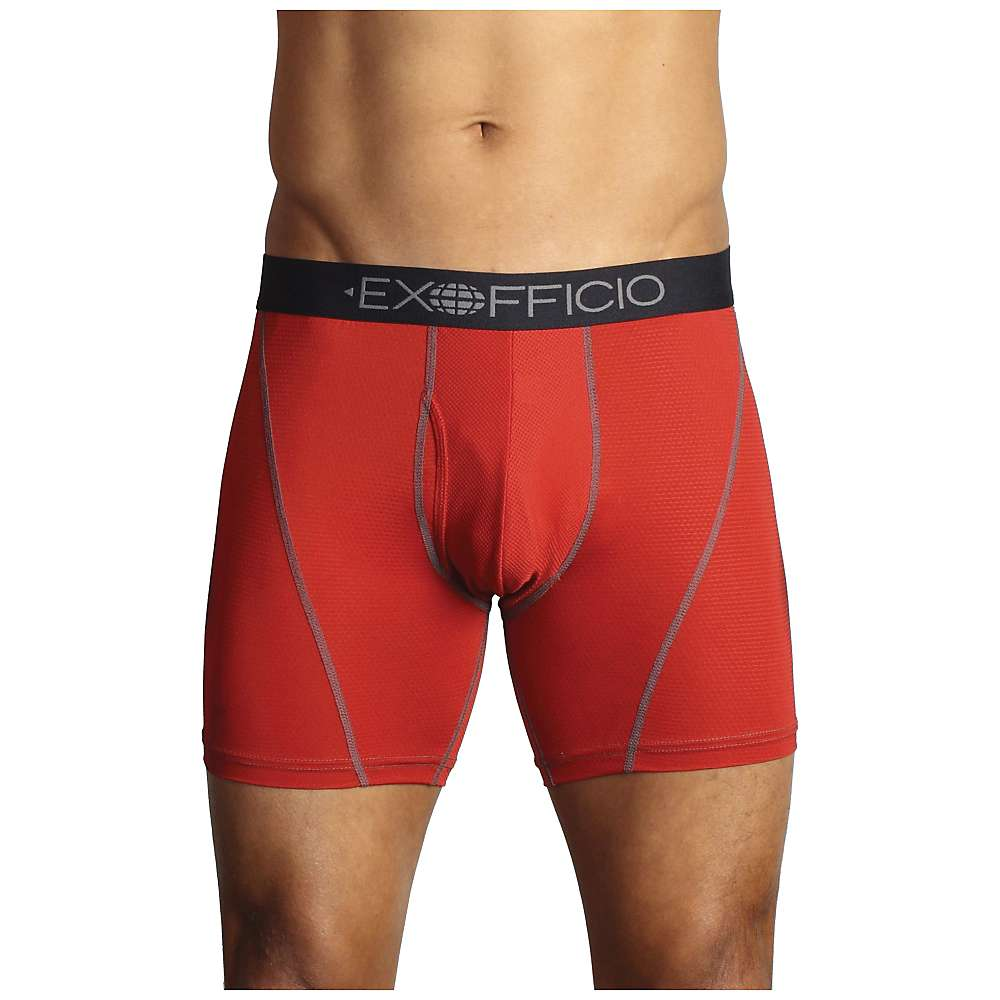 ExOfficio Men's Give-N-Go Sport Mesh 6Inch Boxer Brief by ExOfficio