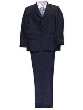 """Kids World Big Boys' Husky """"C-Suite"""" 5-Piece Suit (Sizes 10H - 20H)"""