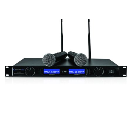 Technical Pro Dual UHF Wireless Microphone System
