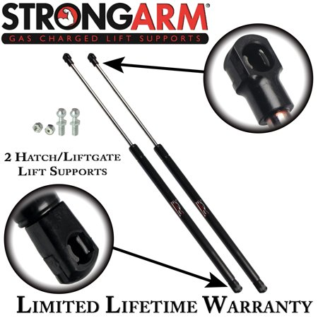 2002 Accent (Qty (2) Fits Hyundai Accent 2000 2001 2002 Rear Hatch Lift Supports Kit (must reuse old)