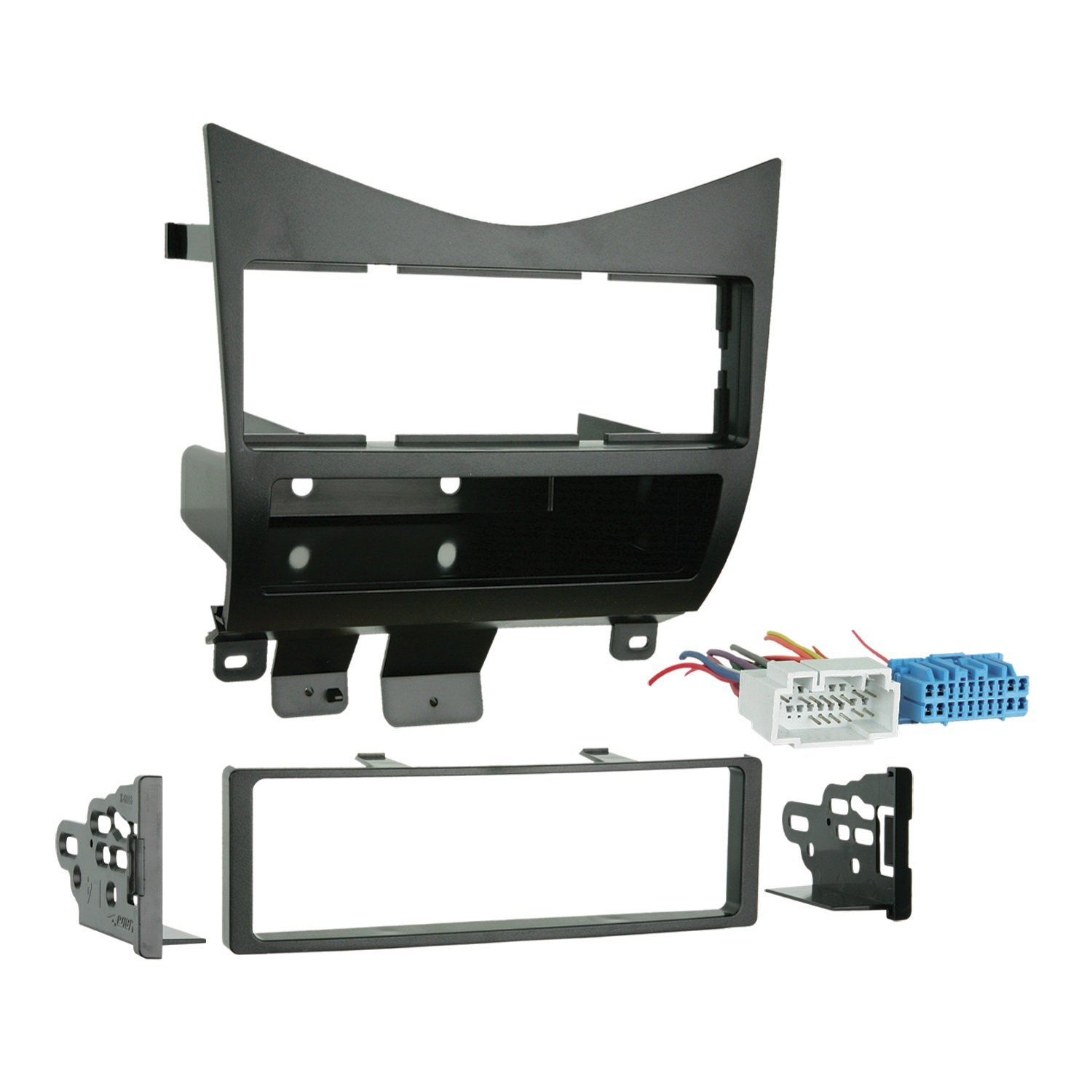 99 7862 Lower Dash Single Din Installation Kit For 2003 2004 Honda Metra Car Stereo Wire Harness Accord With Acurahondaisuzu Climate 20042008 Black Chrysler Vehicles By