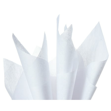 American Greetings White Tissue Paper, 100 Sheets