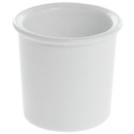 Bugambilia Bowl White Cast Aluminum - 5 1/4