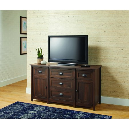 "Better Homes & Gardens Lafayette TV Stand for TVs up to 50"", English Walnut Finish"