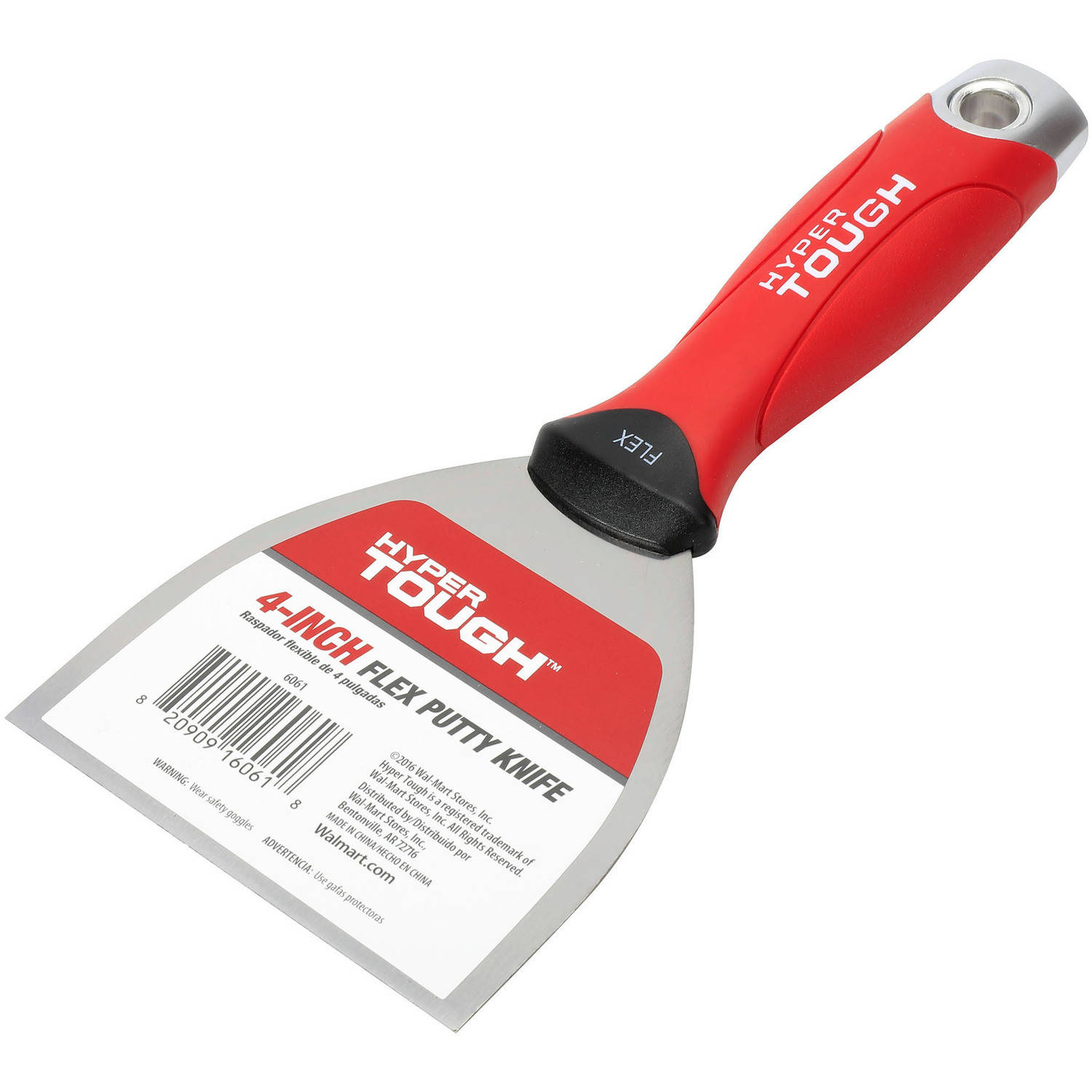 "Hyper Tough Soft Grip 4"" Flexible Putty Knife"