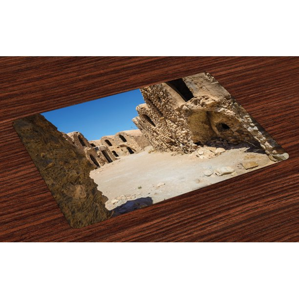 Galaxy Placemats Set Of 4 One Of Abandoned Sets Of The