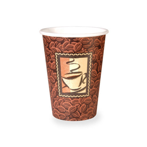 Dixie Hot Paper Cup in Brown