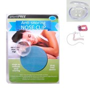 Stop Snore Free Anti Snoring Nose Clips Sleep Aid Guard Night Device On Tv New