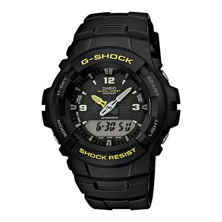 Men's G-Shock Analog-Digital Watch, Black Resin Strap ()