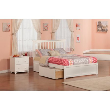 Atlantic Furniture Mission Bedroom Set