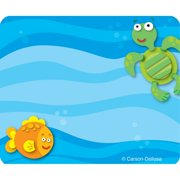 Sea Life Name Tags, 40/pkg