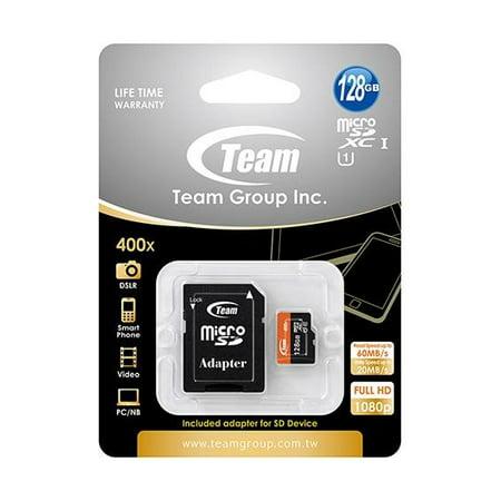 128GB Team microSDXC CL10 UHS-1 400X High-Speed Mobile phone memory