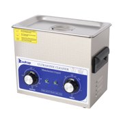 ZOKOP New 3L Ultrasonic Cleaner Stainless Steel Industry Heated Heater w/Timer