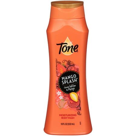 Tone Body Wash, Mango Splash, 18 Ounce (Make Body Splash)