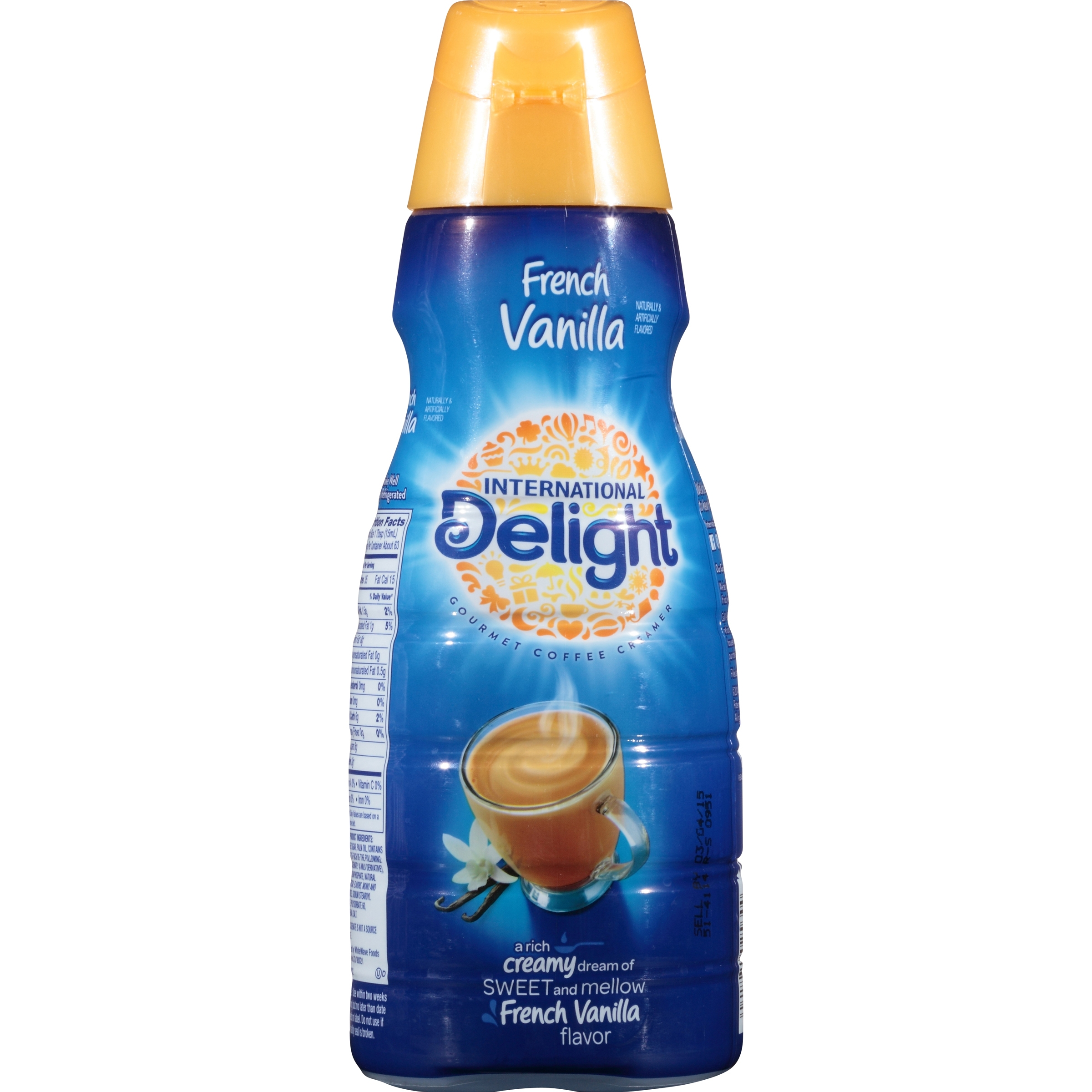 International Delight French Vanilla Coffee Creamer, 32 oz