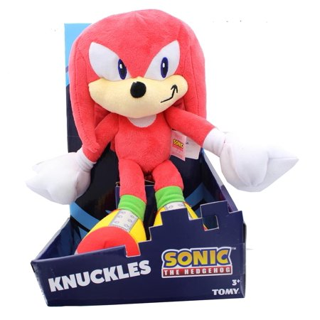 Sonic The Hedgehog Collector Series 12 Inch Plush - Knuckles - Knuckles Sonic The Hedgehog