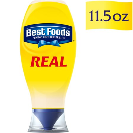 Best Foods Real Mayonnaise, Squeeze 11.5 oz (Pack of (Best Foods Real Mayonnaise Recipe)