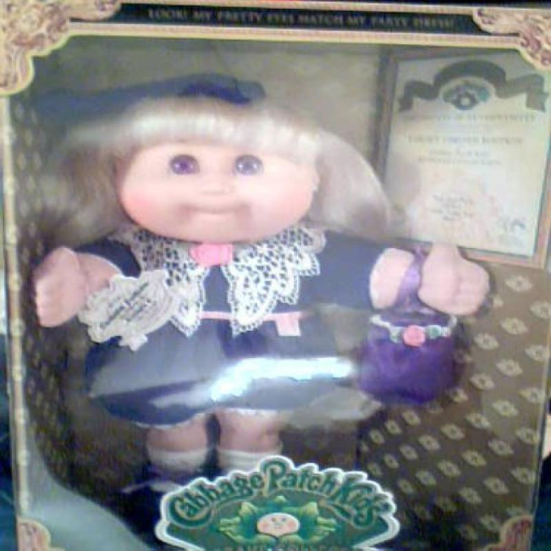 Cabbage Patch Kids Keepsake Collection Target 1977 Limited Edition, Cammie Justine Girl Doll by