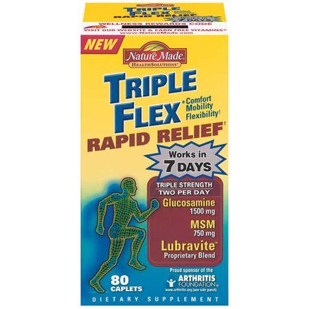 Nature Made Health Solutions: Triple Flex Rapid Relief Triple