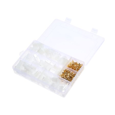 Total 380PCS/Box 40 Sets Motorcycle Car Auto Electrical 2.8mm 2/3/4/6 Pin Wire Terminal Connectors with Storage Box - image 7 de 7