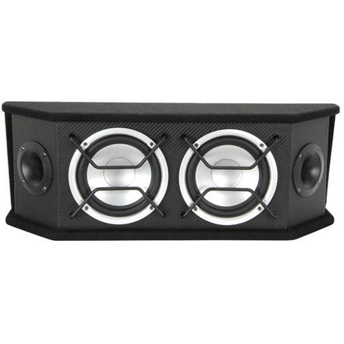 "Scosche Full Range Speaker System with Two 6.5"" Woofers"