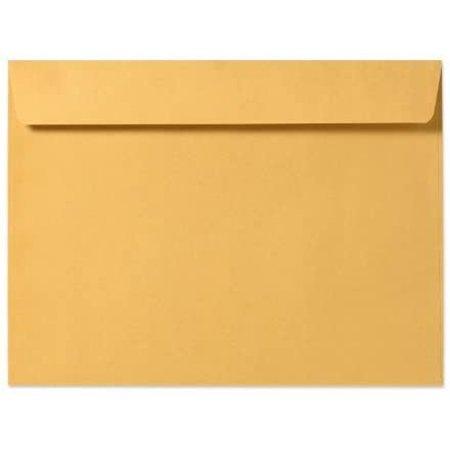 9 X 12 Booklet Envelopes - 28lb. Brown Kraft (50 Qty.)