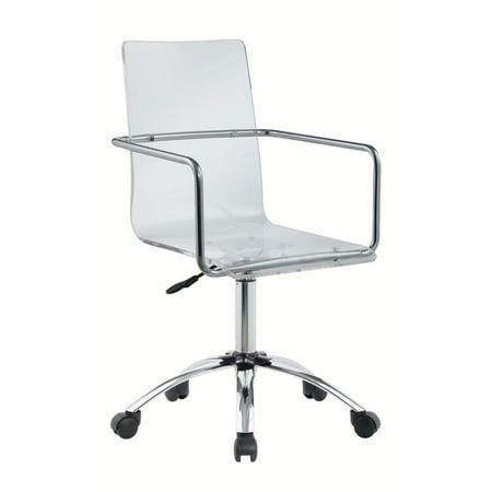 Coaster Contemporary Clear Acrylic Office Chair 801436