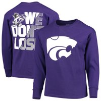 Youth Russell Athletic Purple Kansas State Wildcats Graphic Long Sleeve T-Shirt
