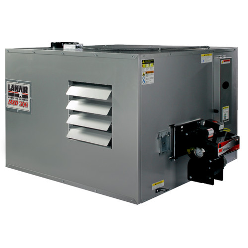 Lanair Products, LLC 300,000 BTU Ceiling Mounted Forced Air Cabinet Heater