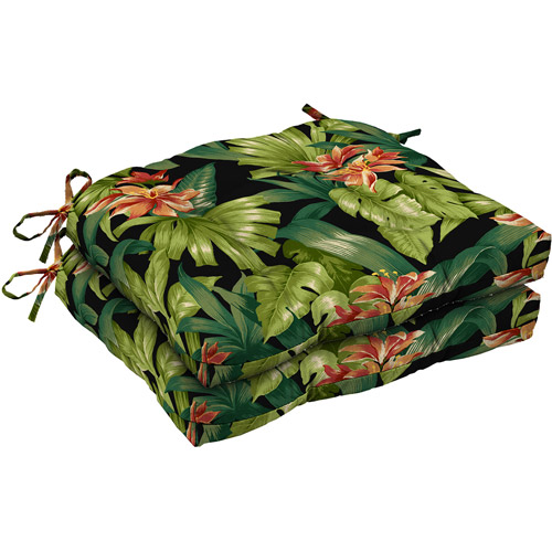 Better Homes and Gardens Outdoor Wicker Seat Cushions Set of 2