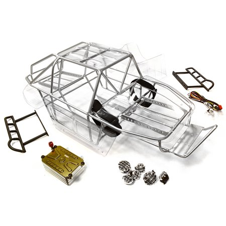 Integy RC Toy Model Hop-ups C26339SILVER Realistic Scale T2 RCT1.9 ...