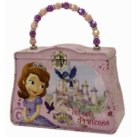 Princess Sofia the First Tin Beaded Purse- Sweet as a