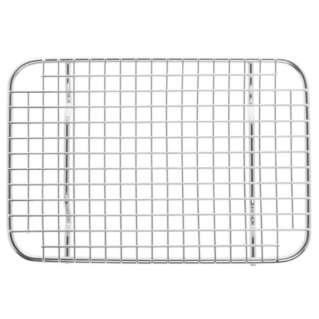 Vollrath® Super Pan Steam Table Pan Wire Grate 3® 1/2 Size Stainless Steel   (74200) (Work Table Wire Pan Slide)