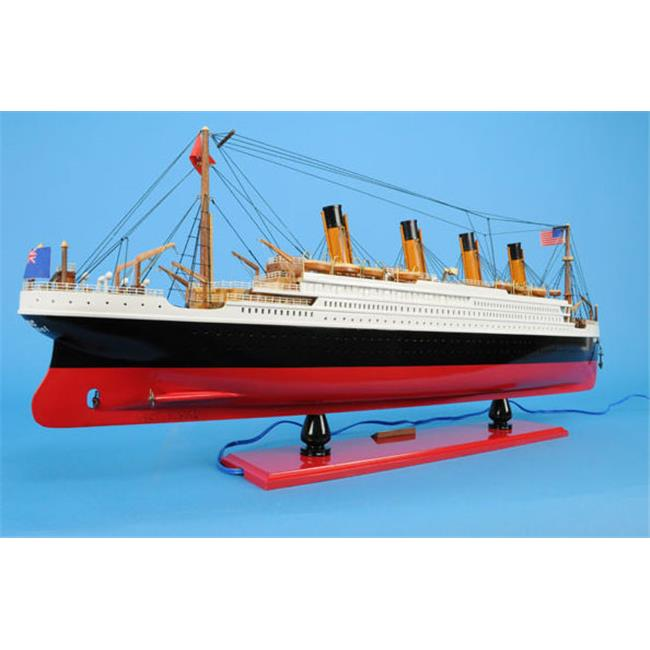 Old Modern Handicrafts C057 Titanic With Lights by Old Modern Handicrafts