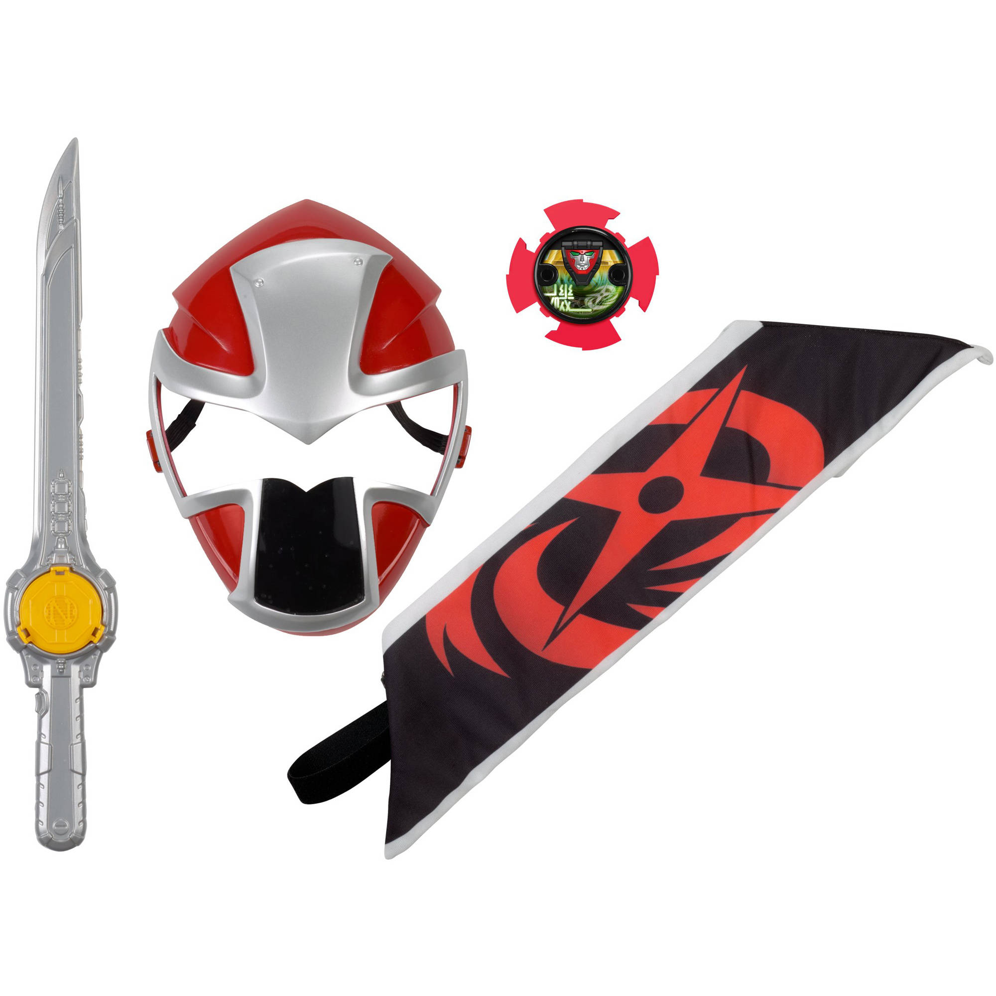 Power Rangers Ninja Steel Red Ranger Hero Set