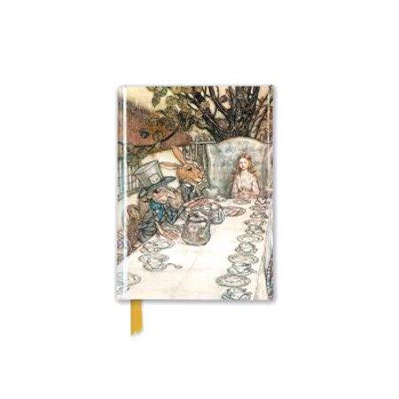 Rackham: Alice in Wonderland Tea Party (Foiled Pocket Journal)