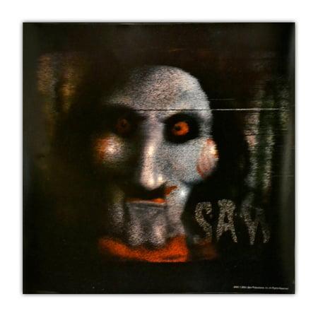 Saw Jigsaw Screen Spooky Scenes Cling - Spooky Scene