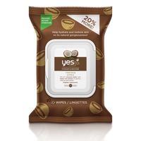 Yes To Coconut Cleansing Wipes Hydrating Makeup Remover Wipes, 30 Ct