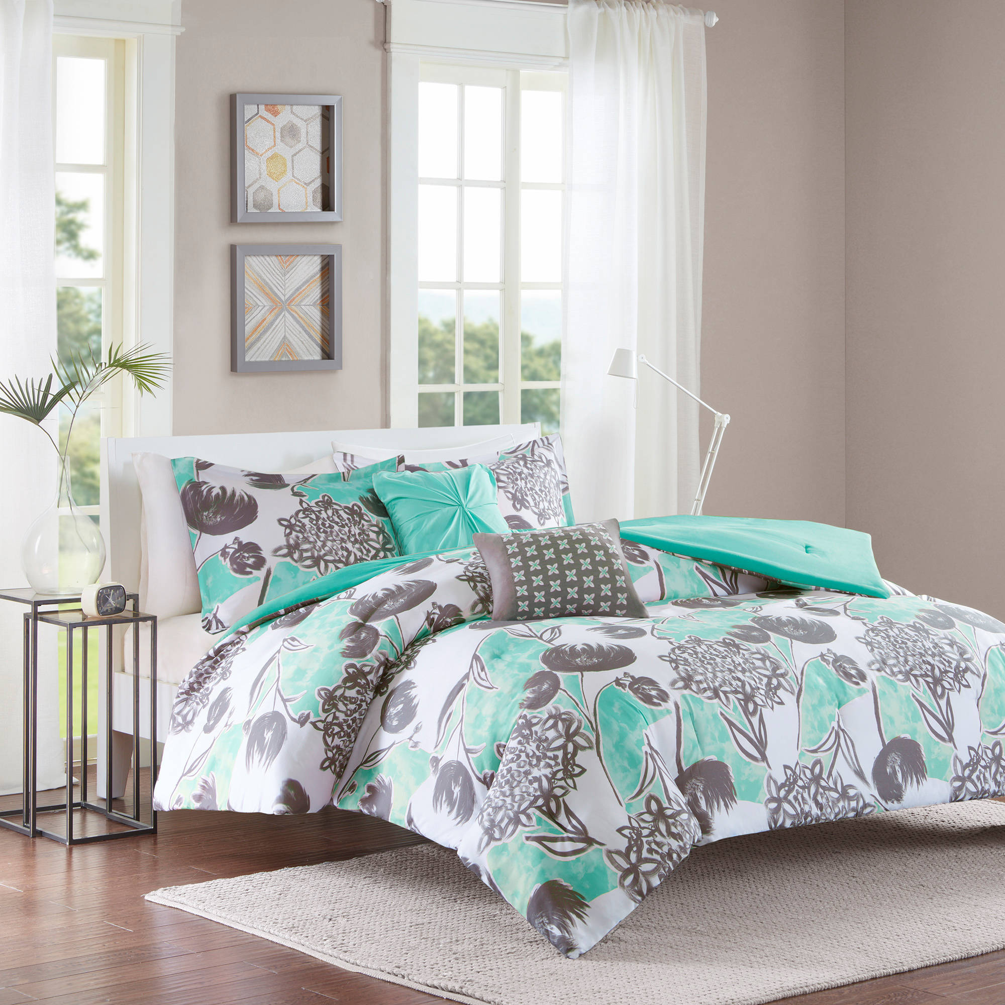 Home Essence Apartment Vera Microfiber Comforter Set