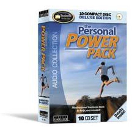 Personal Power Pack - 4 Motivational Audio Books on 10 CD's